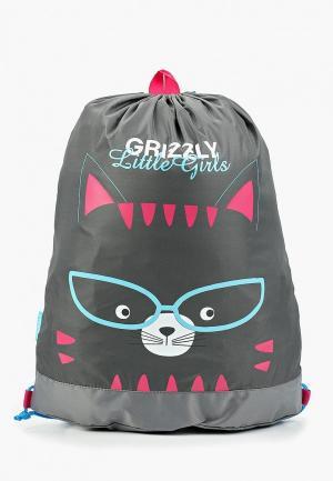 Мешок Grizzly. Цвет: серый