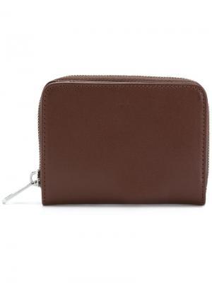 Full zip coin wallet A.P.C.. Цвет: коричневый