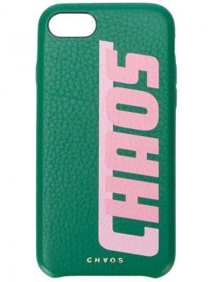 Чехол для iPhone 7/8 Chaos. Цвет: зеленый