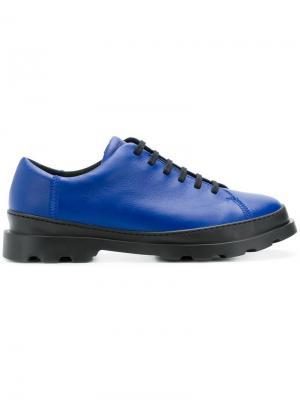 Кроссовки на шнуровке Camper. Цвет: синий