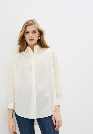 Блуза French Connection. Цвет: бежевый