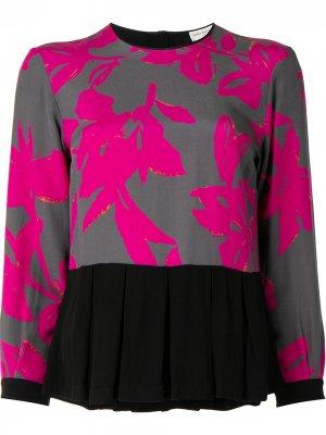 Блузка с цветочным принтом Dries Van Noten Pre-Owned. Цвет: розовый