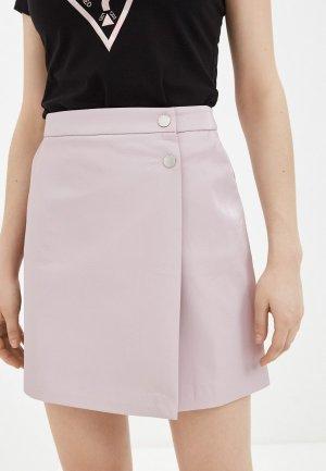 Юбка Guess Jeans. Цвет: розовый