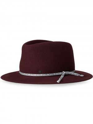 Складная шляпа Andre Maison Michel. Цвет: красный