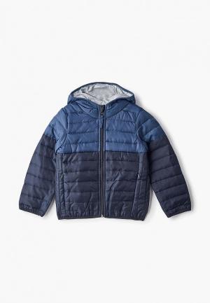 Куртка утепленная Piazza Italia. Цвет: синий