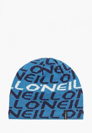 Шапка O`Neill. Цвет: синий