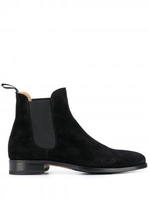 Ботинки челси Gian Carlo Scarosso. Цвет: черный