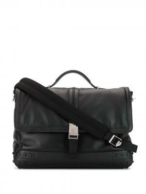 Tods портфель с пряжками Tod's. Цвет: черный