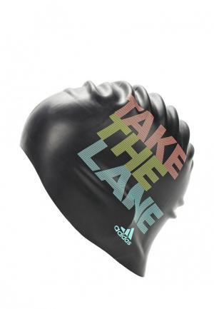 Шапочка для плавания adidas Performance. Цвет: черный