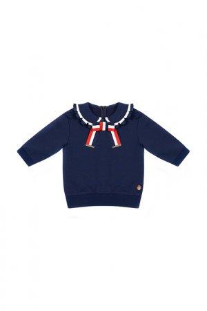 Пуловер STEFANIA. Цвет: темно-синий
