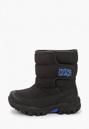 Дутики Kapika. Цвет: черный