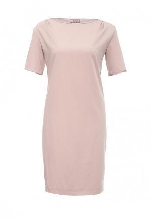 Платье D.VA. Цвет: розовый