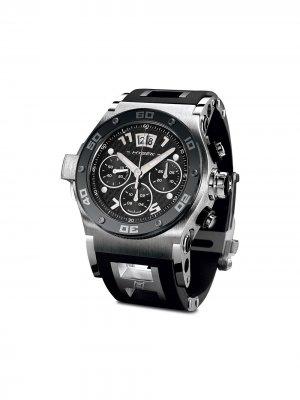 Наручные часы Abyss Discoverer 44 мм Jorg Hysek. Цвет: черный
