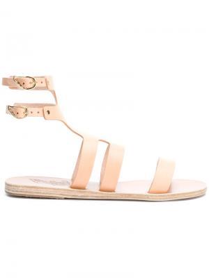 Сандалии Agapi Ancient Greek Sandals. Цвет: нейтральные цвета