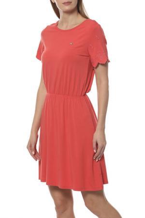 Платье U.S. Polo Assn.. Цвет: оранжевый