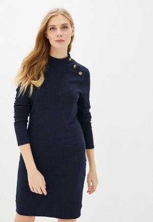 Платье Brave Soul. Цвет: синий