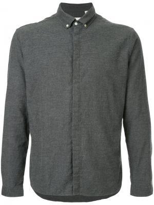 Рубашка Aston Oliver Spencer. Цвет: серый