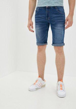 Шорты джинсовые MZ72. Цвет: синий
