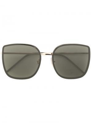 Солнцезащитные очки Bibi Gentle Monster. Цвет: черный