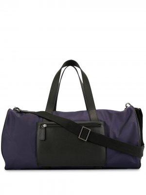 Спортивная сумка с вышивкой Shanghai Tang. Цвет: фиолетовый