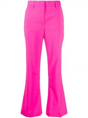 Расклешенные брюки MSGM. Цвет: розовый