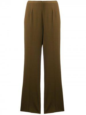 Прямые брюки строгого кроя Jean Paul Gaultier Pre-Owned. Цвет: коричневый