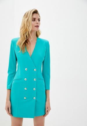 Платье Imperial. Цвет: бирюзовый