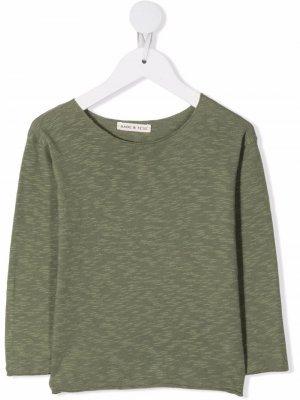Трикотажная футболка Babe And Tess. Цвет: зеленый