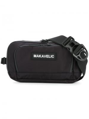 Сумка на плечо Da Move Makavelic. Цвет: черный