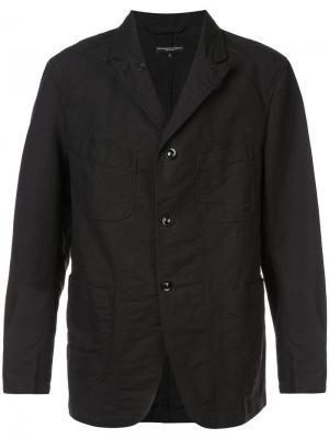 Блейзер Engineered Garments. Цвет: черный