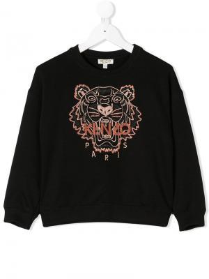 Logo sweatshirt Kenzo Kids. Цвет: черный