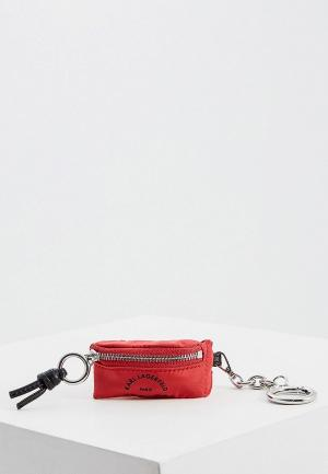 Брелок Karl Lagerfeld. Цвет: красный