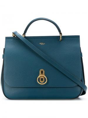Large tote bag Mulberry. Цвет: синий
