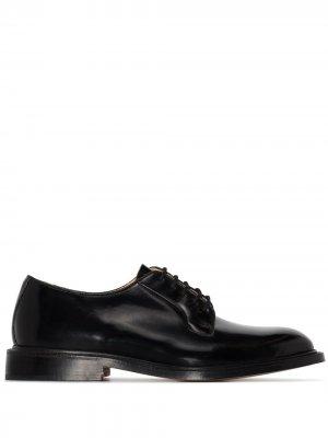 Trickers туфли дерби Robert Tricker's. Цвет: черный
