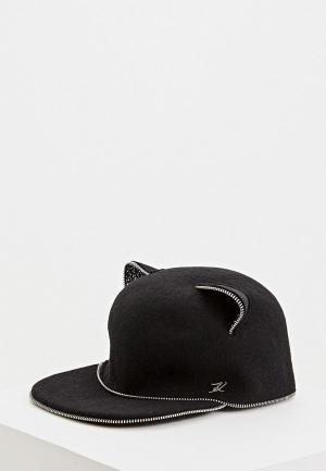 Кепка Karl Lagerfeld. Цвет: черный
