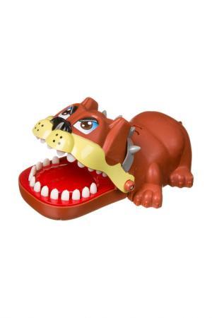Зубастая собака BONDIBON. Цвет: коричневый