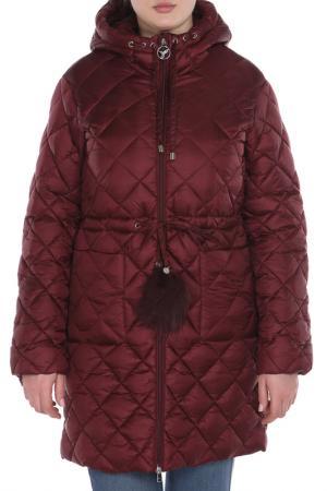Пальто ODRI MIO. Цвет: красный