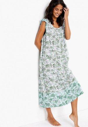 Сорочка ночная Marks & Spencer. Цвет: белый