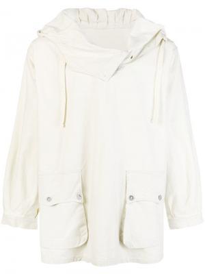Куртка из анорака A.N.G.E.L.O. Vintage Cult. Цвет: белый