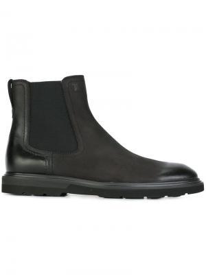 Ботинки челси Tod's. Цвет: черный