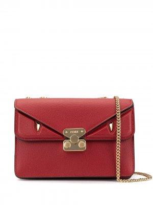 Сумка через плечо Bag Bugs среднего размера Fendi. Цвет: красный
