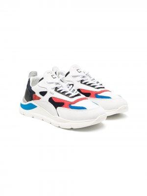 Кроссовки со вставками D.A.T.E.. Цвет: белый