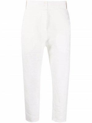 Укороченные брюки Kristensen Du Nord. Цвет: белый