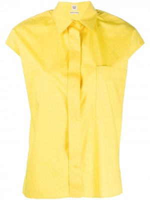 Рубашка без рукавов Hermès. Цвет: желтый