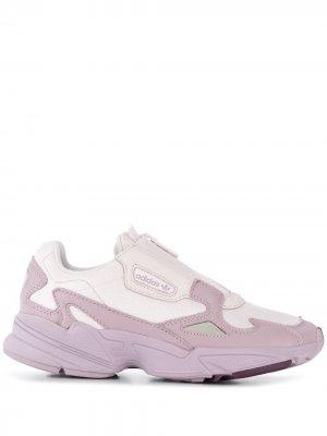 Кроссовки Falcon Zip adidas. Цвет: розовый