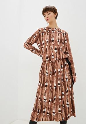Платье By Malene Birger. Цвет: коричневый
