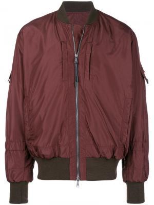 Bomber jacket Qasimi. Цвет: красный