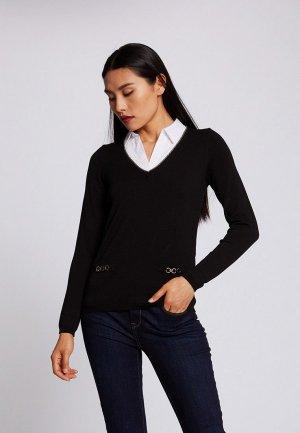 Пуловер Morgan. Цвет: черный