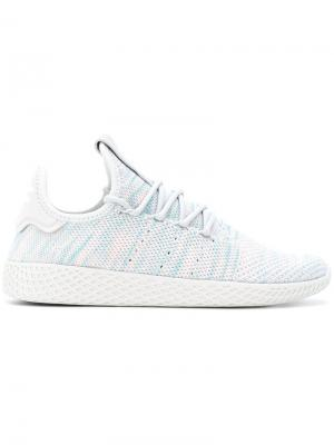 Кроссовки Tennis HU Adidas By Pharrell Williams. Цвет: синий