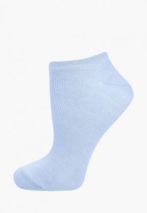 Носки Baon. Цвет: голубой